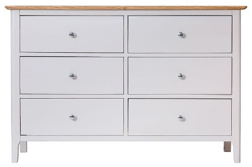 Belmont Painted 6 Drawer Chest